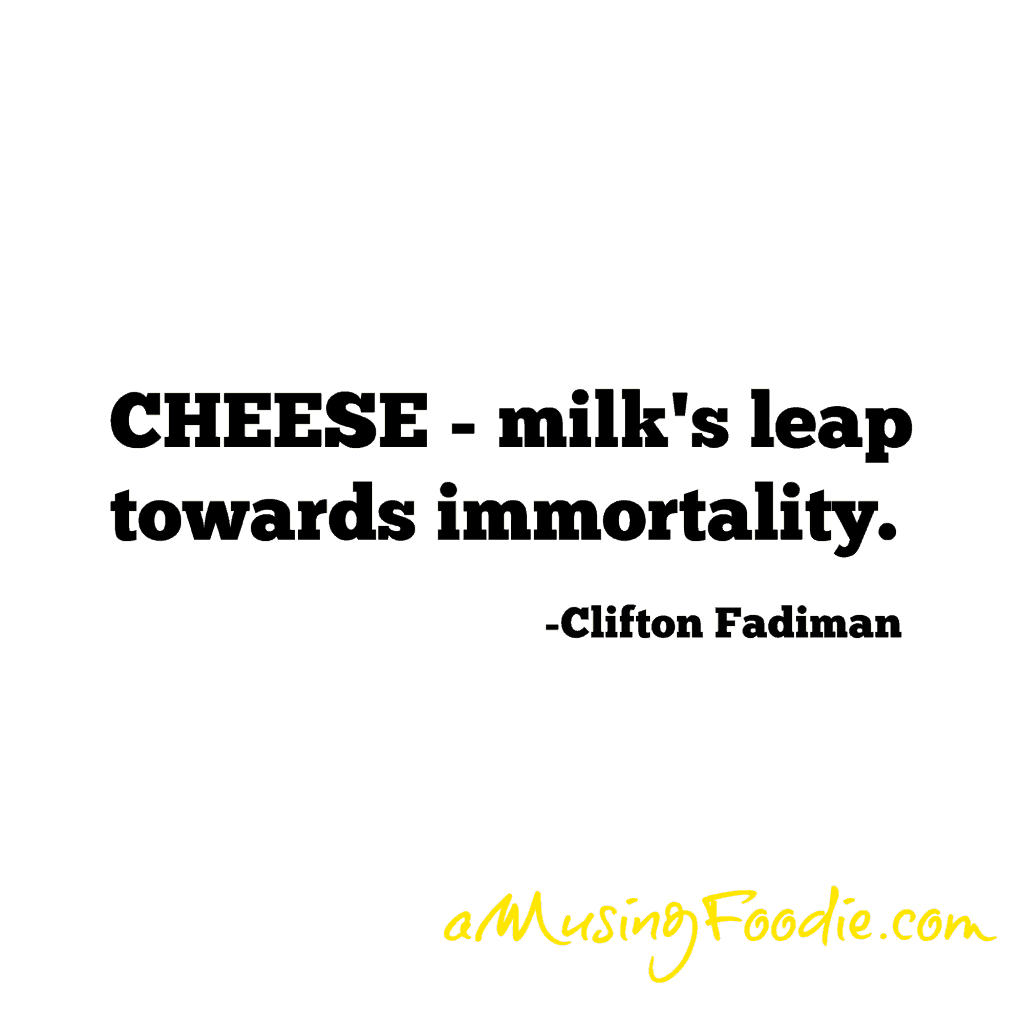 Clifton Fadiman Food Quote