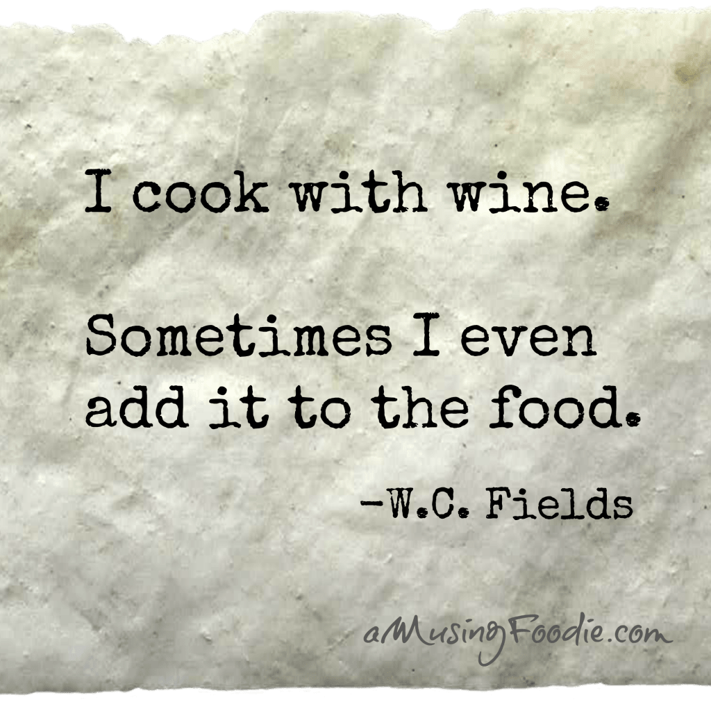 W.C. Fields Food Quote