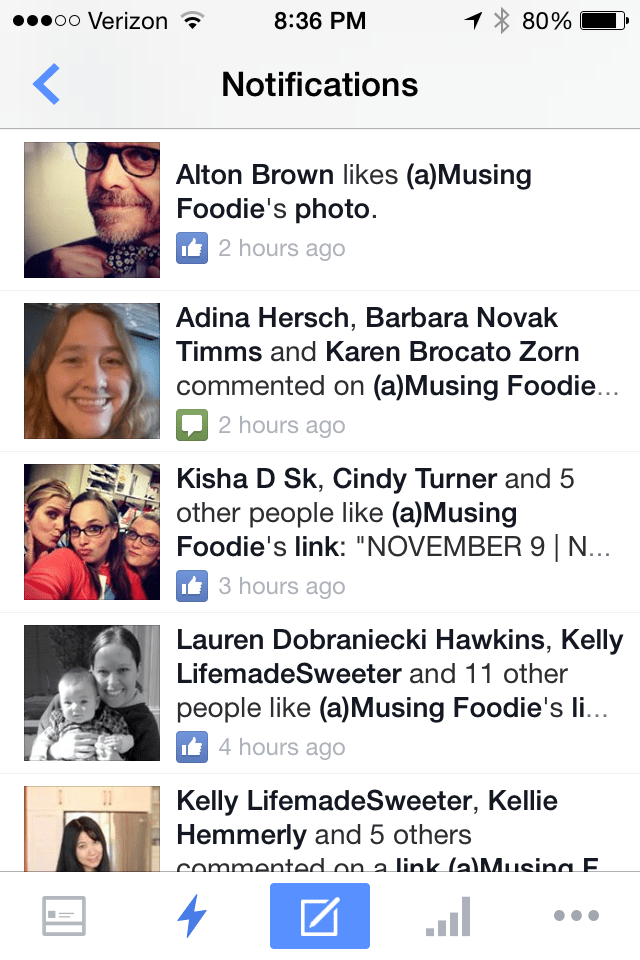 Alton Brown Facebook Like