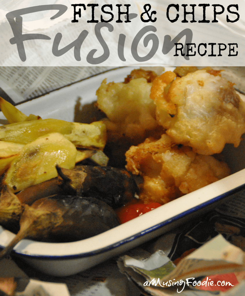 Fusion Fish and Chips Recipe
