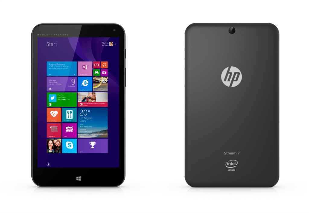 HP Stream 7 Signature Edition Tablet Front Back
