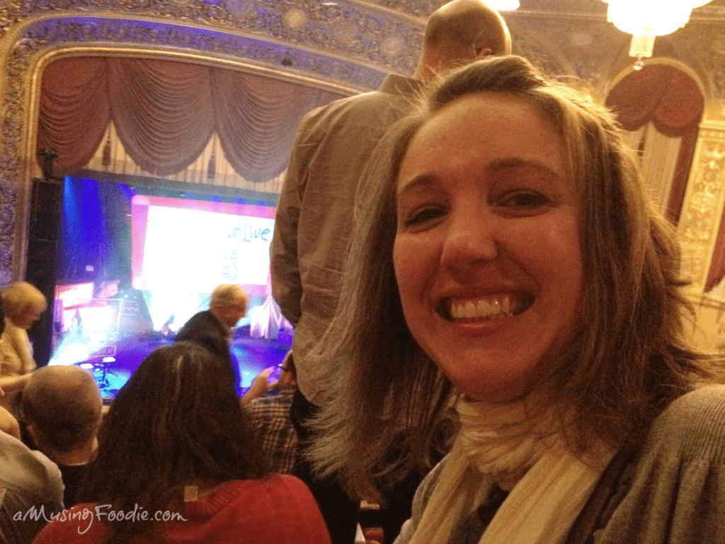 Liza at Alton Brown Live in Washington D.C.