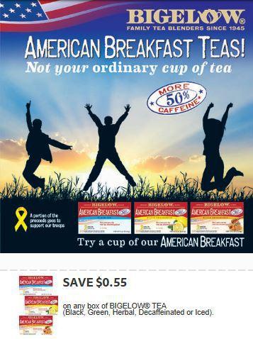 American Breakfast Tea Coupon