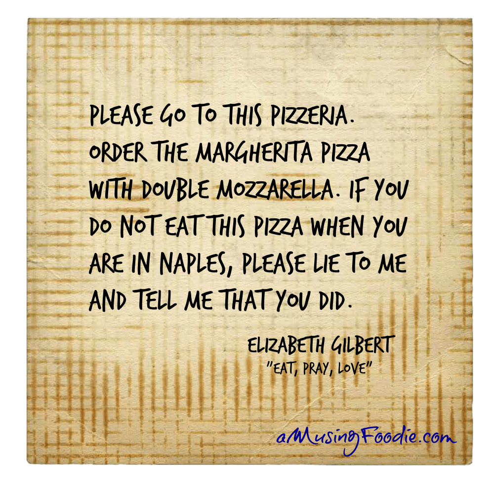 Elizabeth Gilbert Food Quote