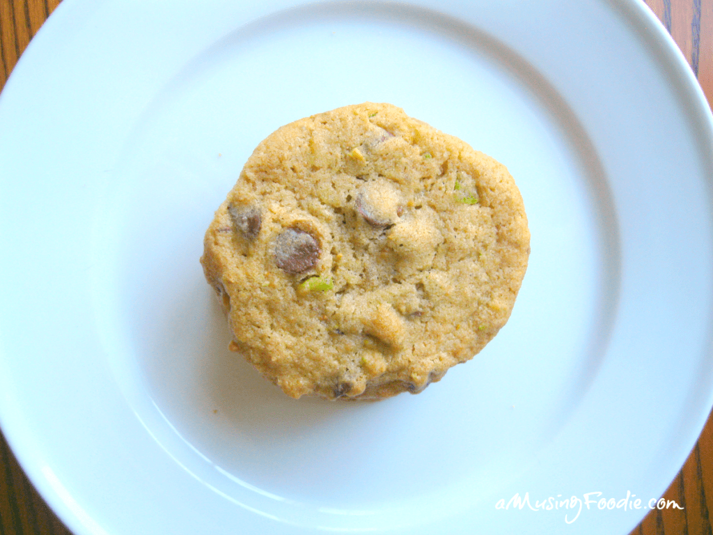 Chocolate Chip Cookies with Pistachios