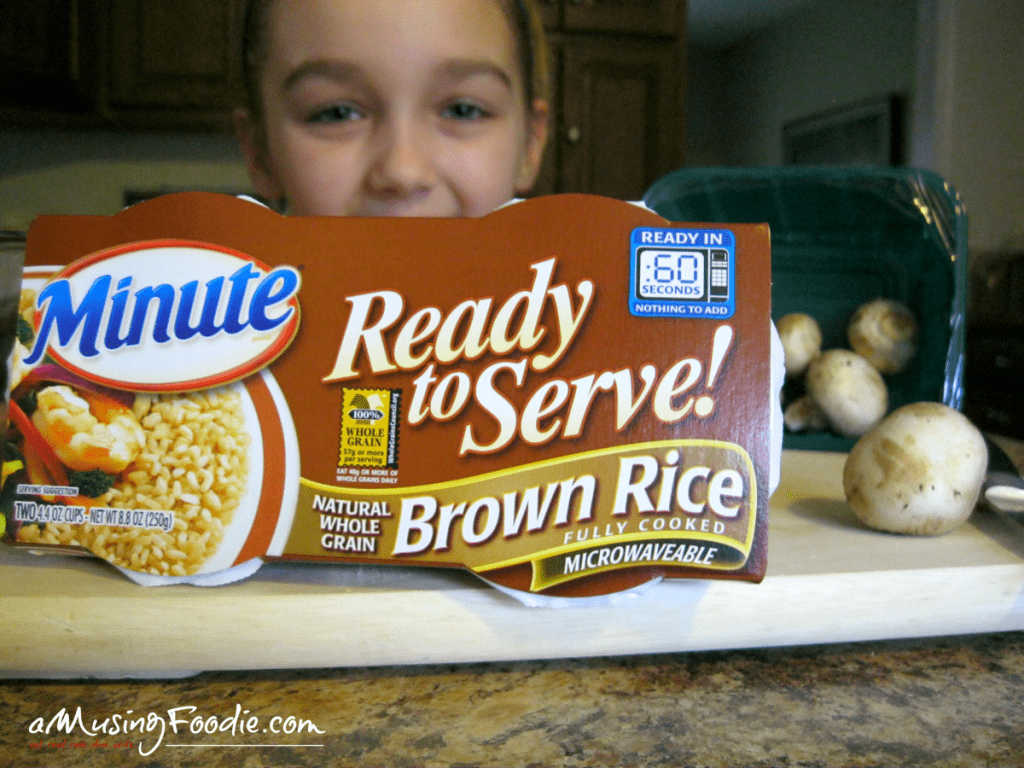 Easy Fried Rice for One Using Minute® Ready to Serve Rice