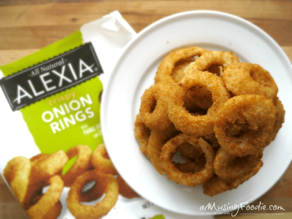 Alexia Onion Rings with Panko Breading and Sea Salt