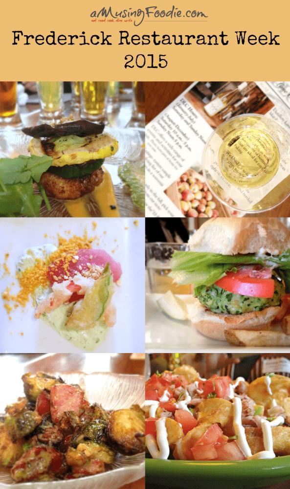 Frederick Restaurant Week 2015, March 2-8 #FredRestWk