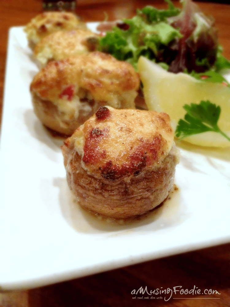Phillips Seafood Baltimore - Crab Stuffed Mushrooms