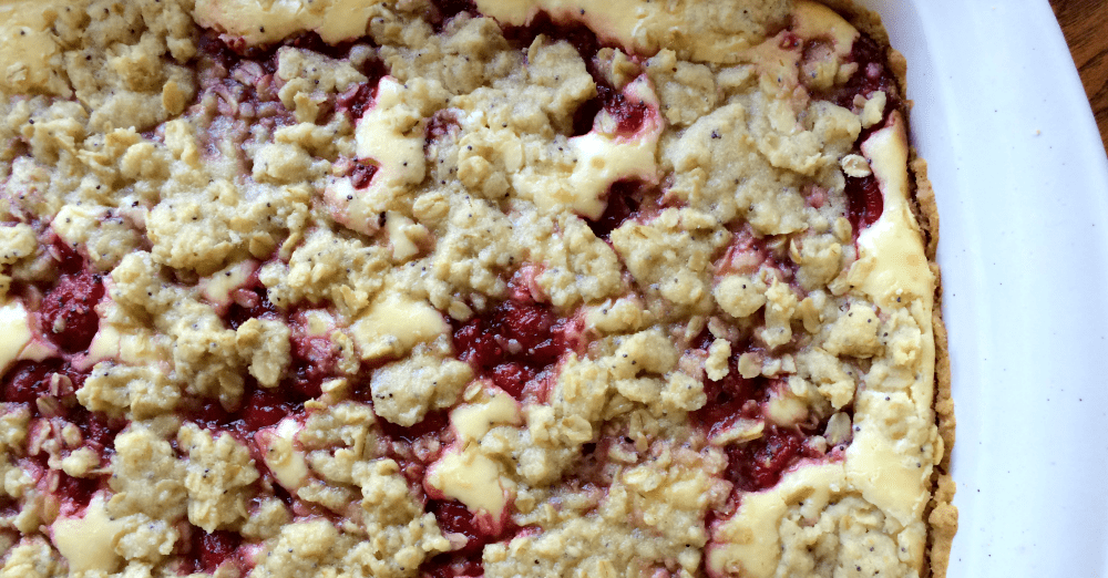 Gluten-Free Raspberry Cheesecake Bars