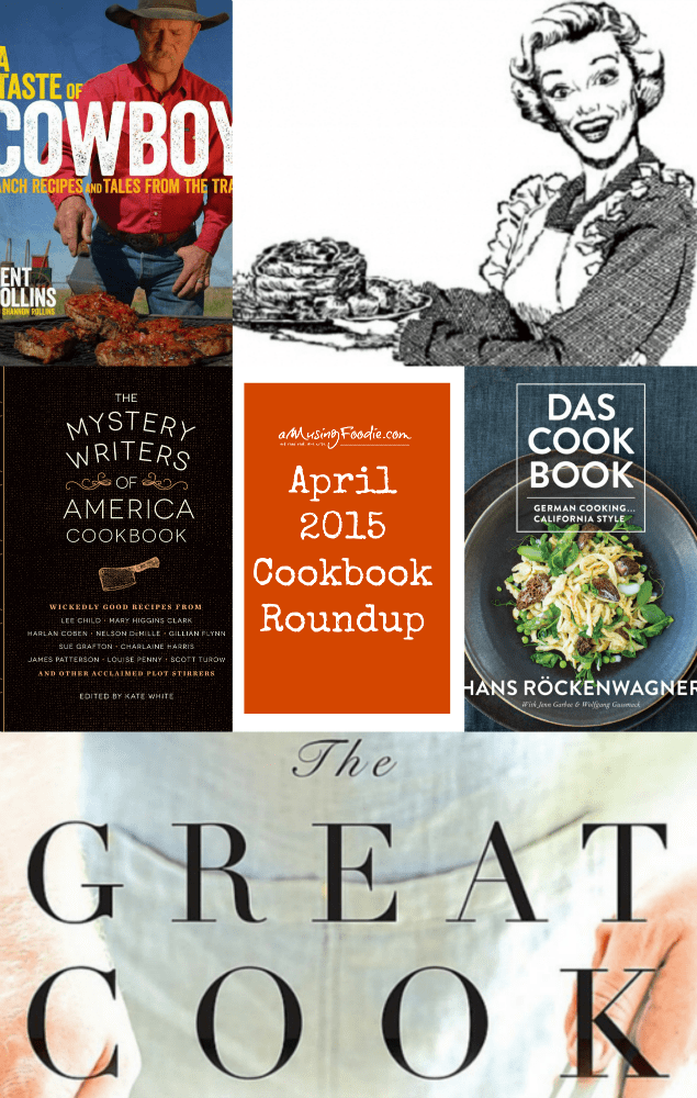 Cookbook Roundup: April 2015