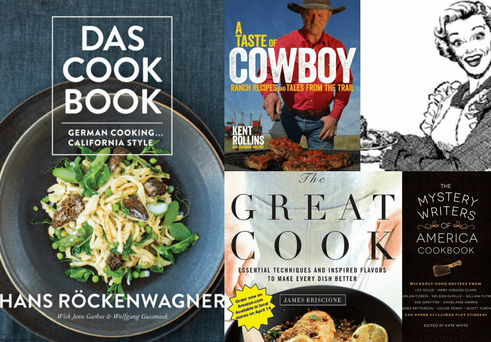 Cookbook Roundup - April 2015