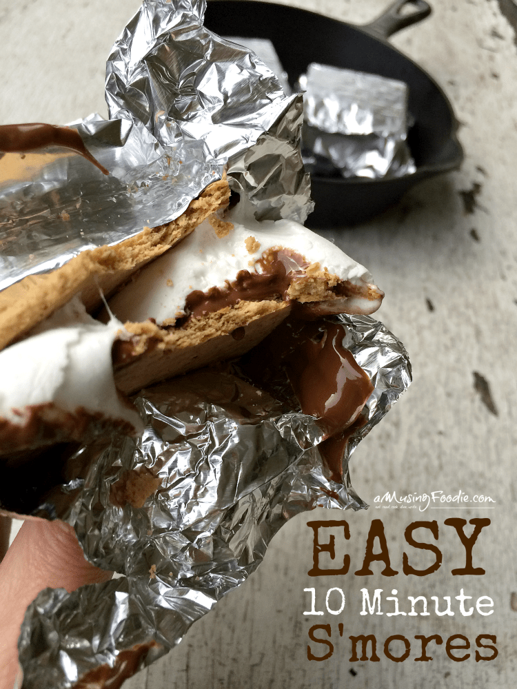 Easy 10 Minute S'mores For A Summer Party