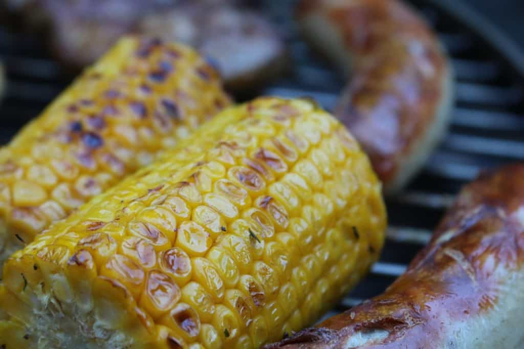 How To Grill Steak - add corn on the cob to the grill, too!
