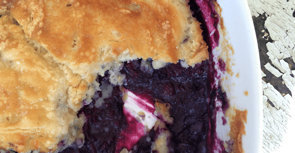 The best blueberry cobbler, EVER!