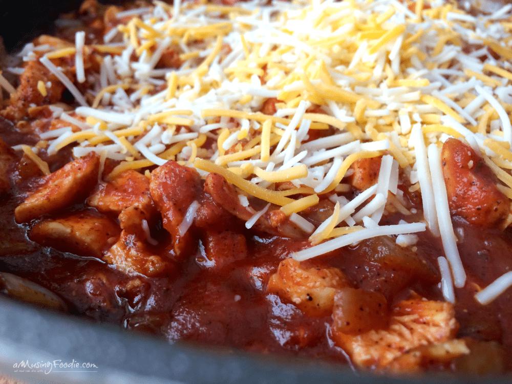 Cheesy Barbecue Chicken Enchiladas!