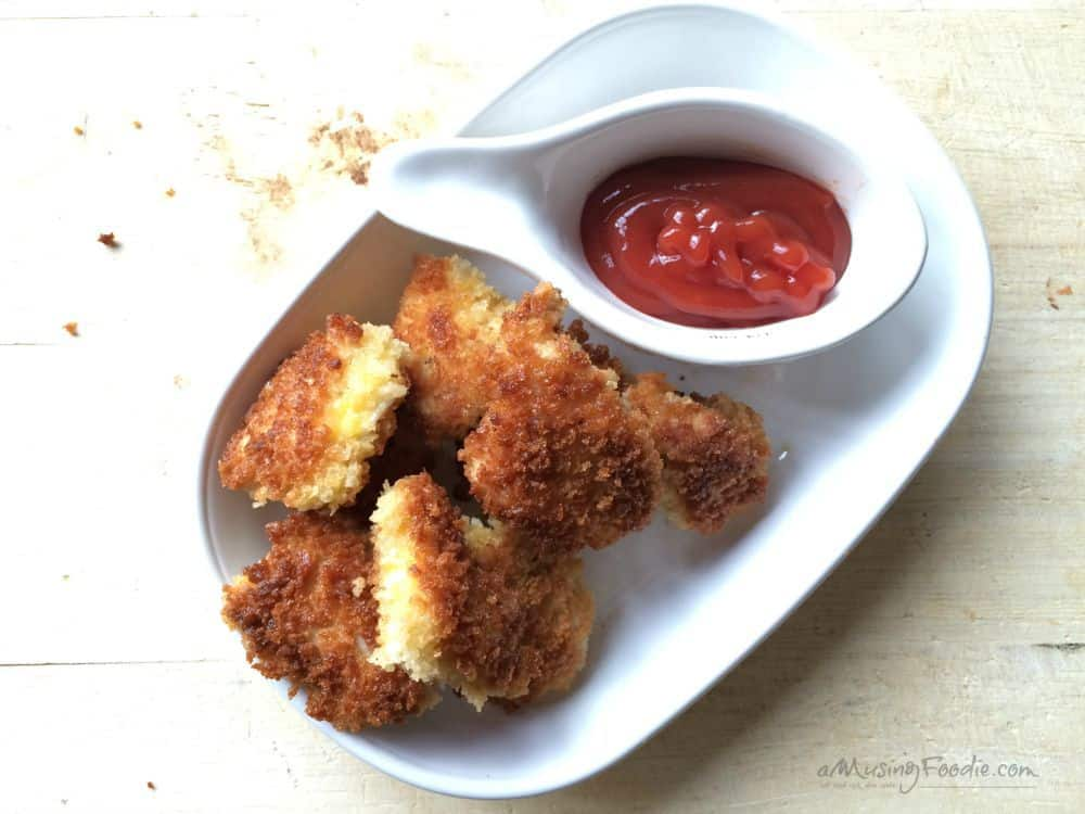 Homemade chicken nuggets in less than 30 minutes!