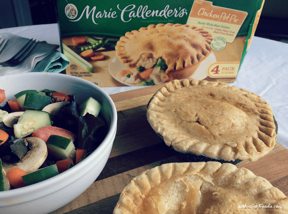 5 Ways To Reduce Holiday Stress: Marie Callender's Chicken Pot Pie!