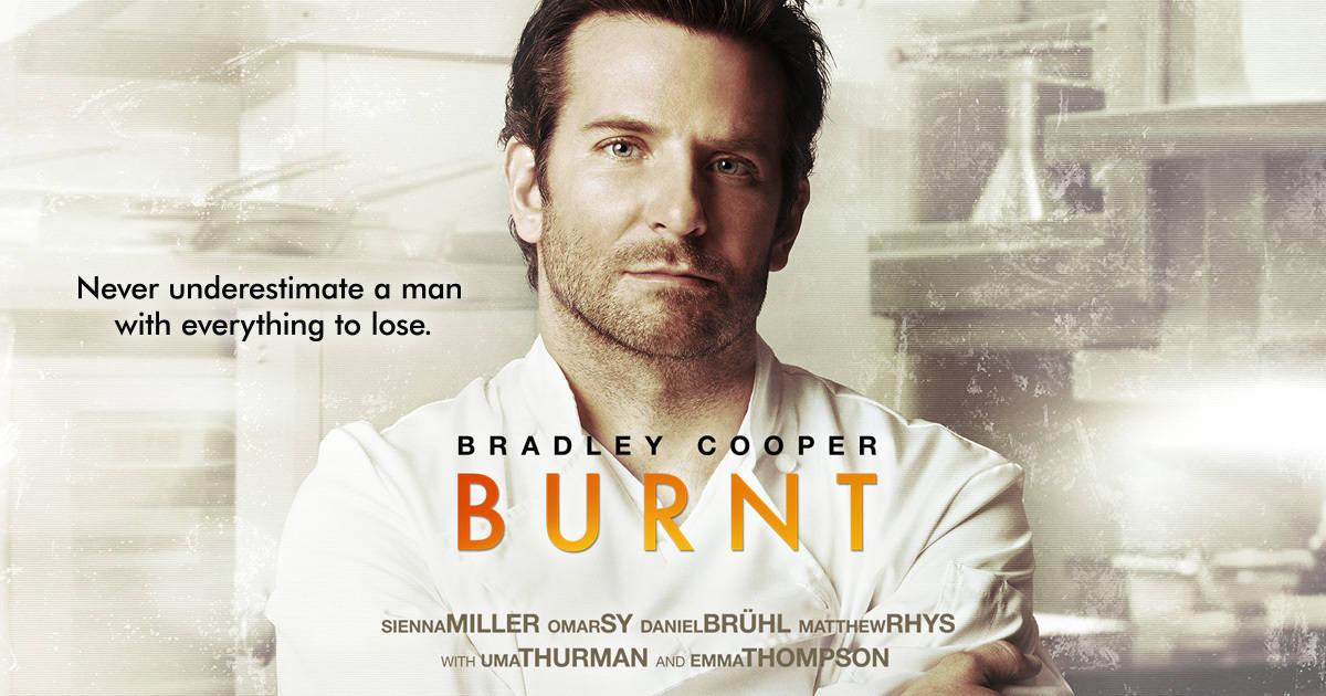 Burnt Movie with Bradley Cooper