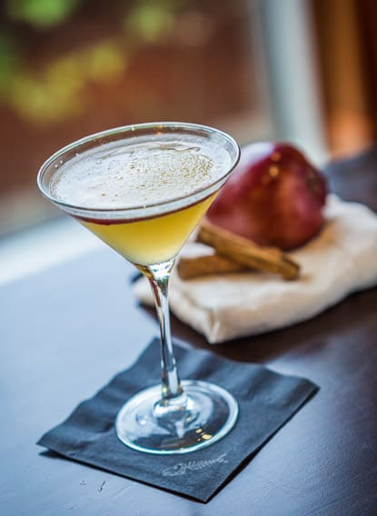 Fall Apple Martini at Bonefish Grill