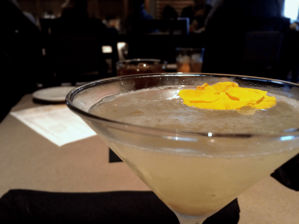 Fresh Pear Martini at Bonefish Grill in Frederick, MD