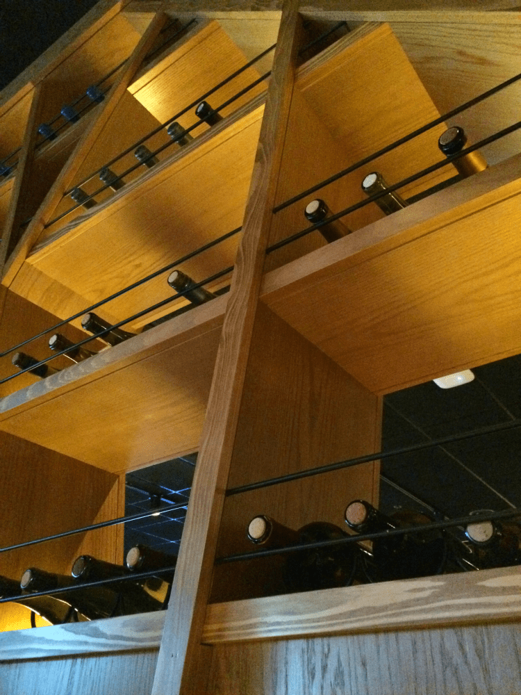 Wine Wall at Bonefish Grill in Frederick, MD