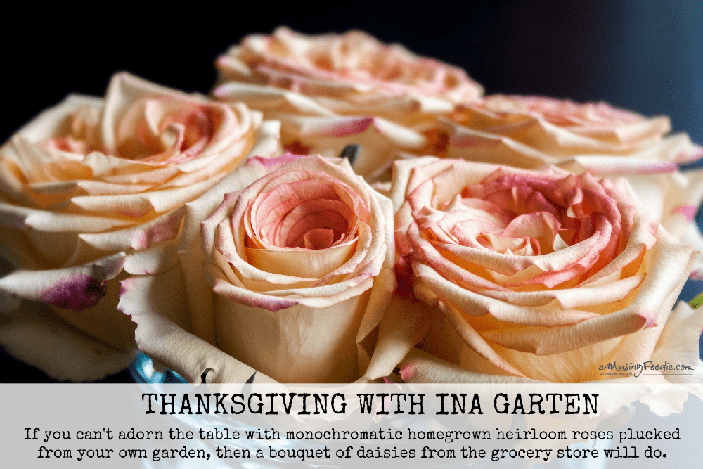 Thanksgiving with Ina Garten