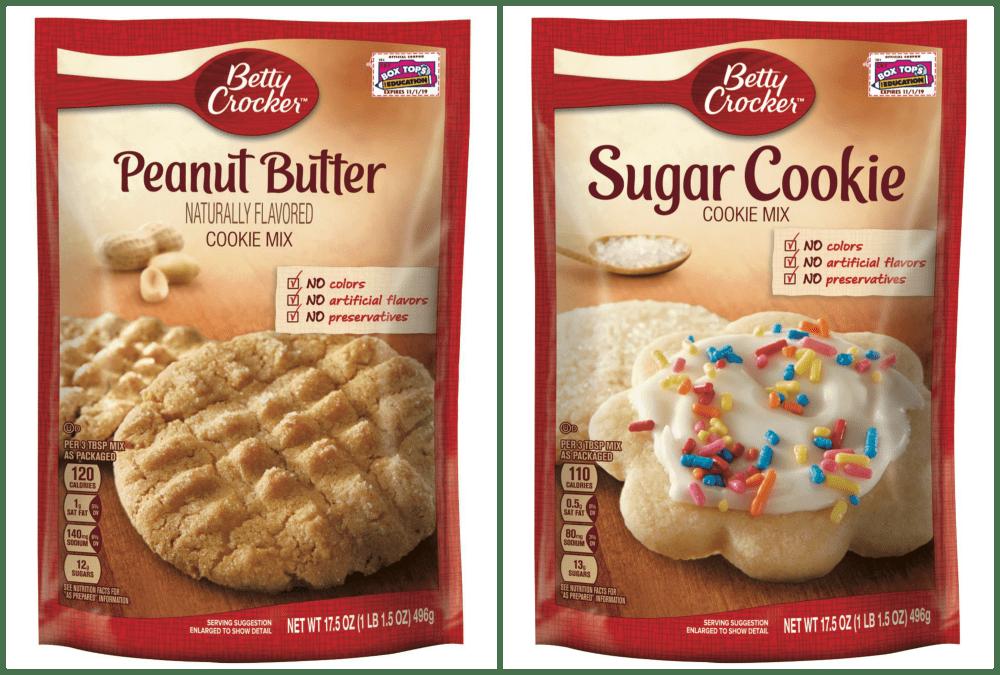 Betty Crocker Cookie Mix Bags