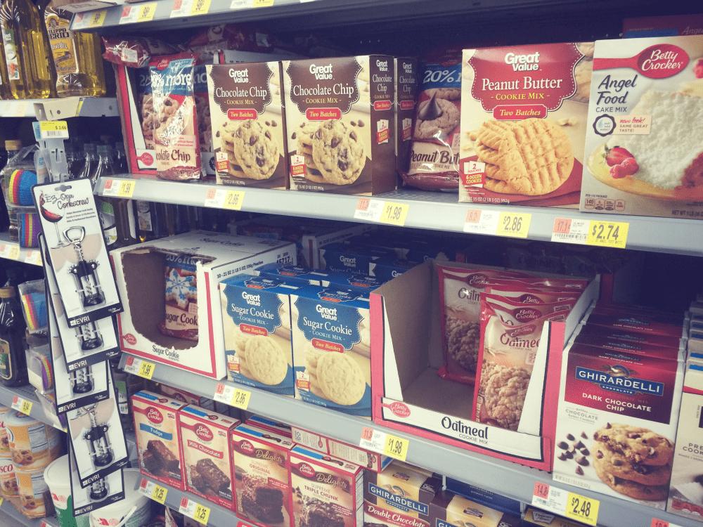 Betty Crocker® cookie mix at Walmart