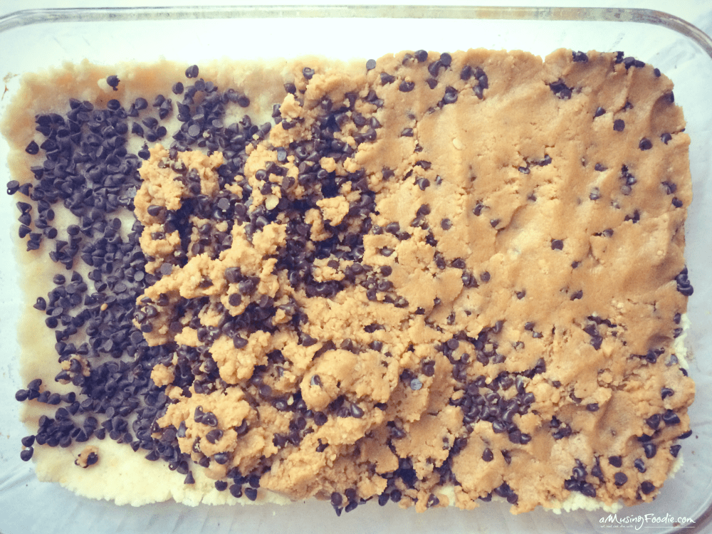 Chewy Chocolate Peanut Butter Cookie Bars! YUM!!!