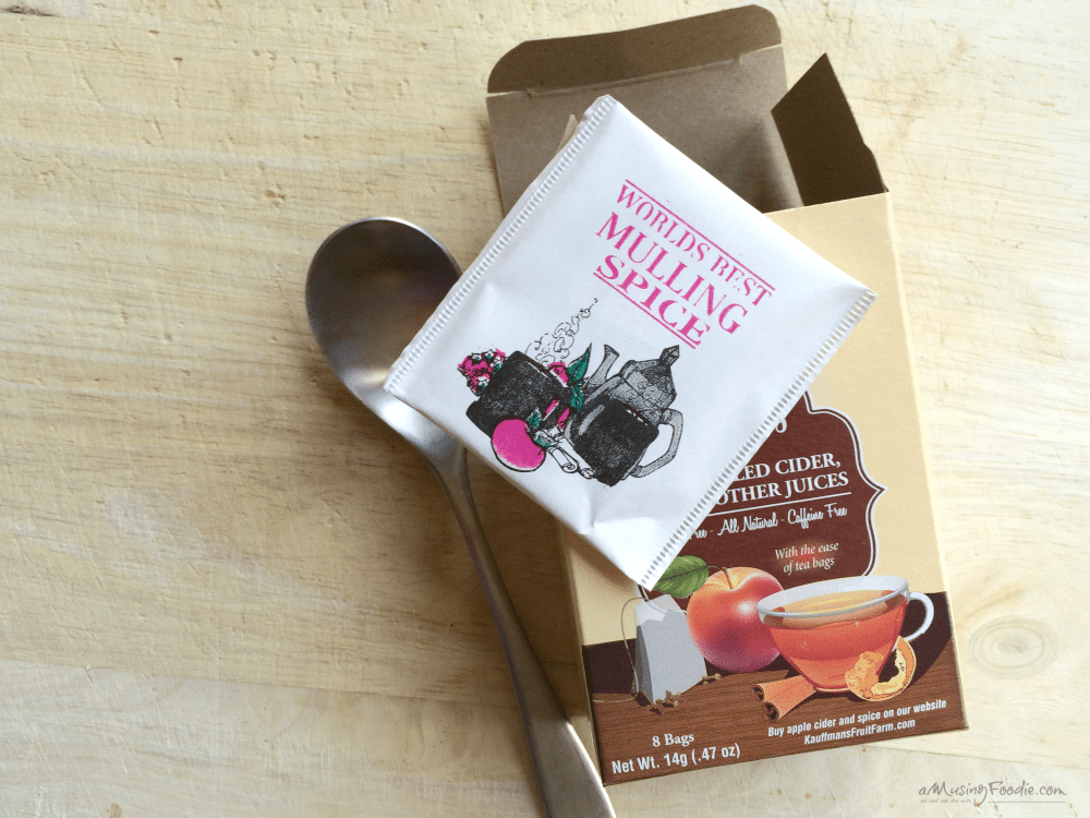 Mulled Cider Spice Bags