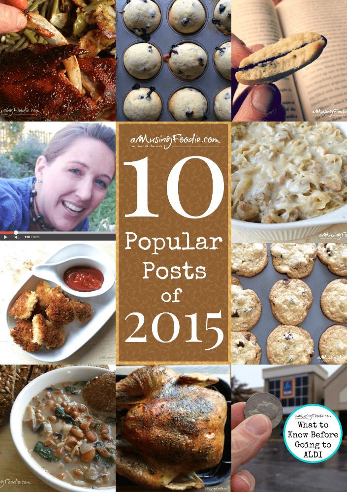 It's my 10 most popular posts of 2015!!