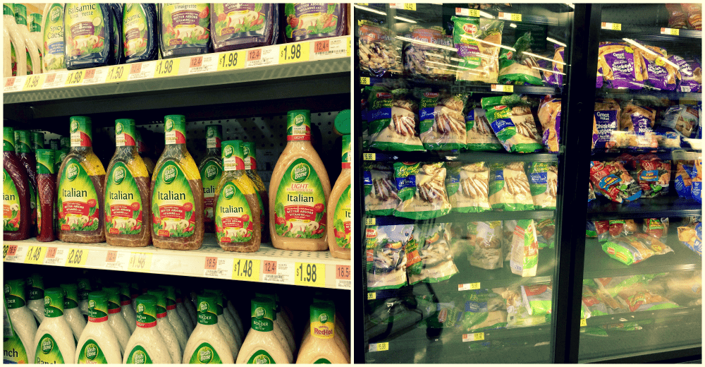 Wish-Bone Italian Dressing and Tyson Grillled & Ready at Walmart