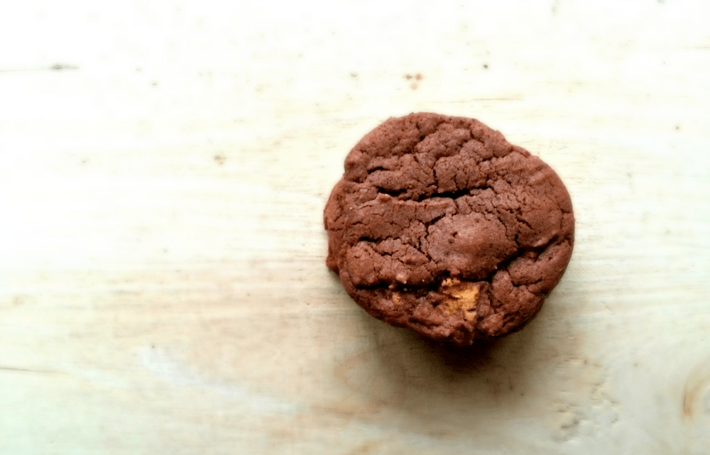 Chewy Chocolate Peanut Butter Cup Cookies - YUM!