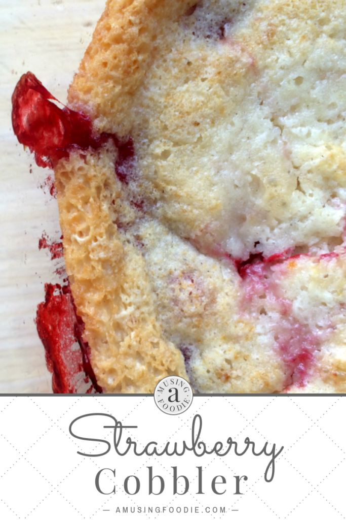 Cobbler is one of my favorite desserts to make, and easy strawberry cobbler may very well be the best summer desserts ever.