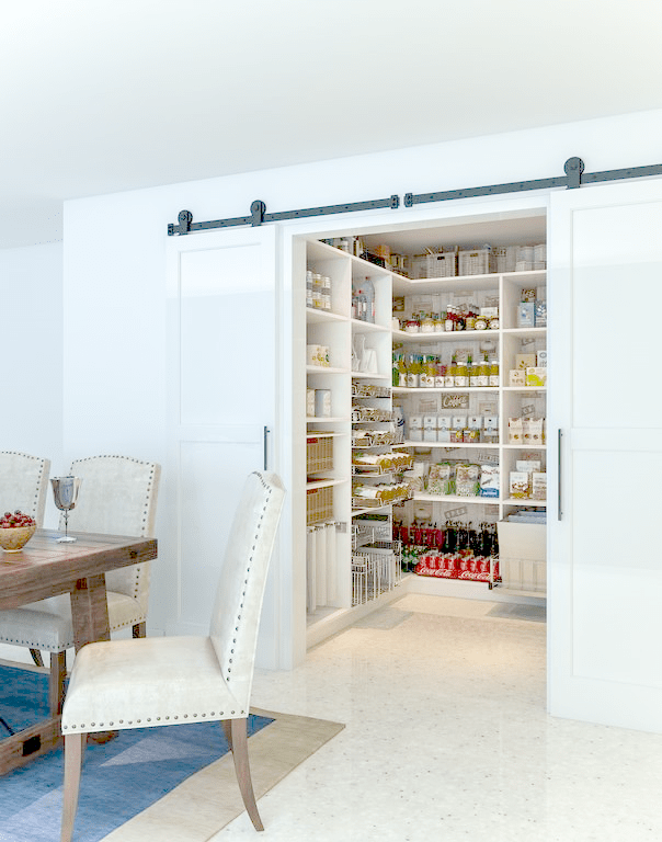 4 tips to organize your pantry: group and store things intuitively!