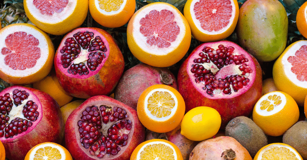 Eating oranges and pomegranates during New Year's celebrations can bring good luck!