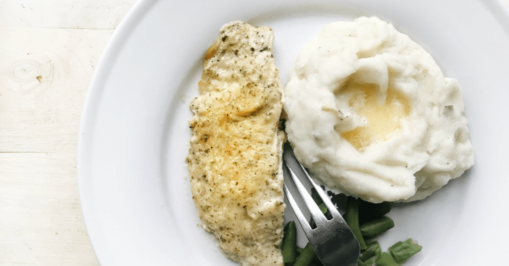 This baked tilapia is topped with a creamy Dijon mayo sauce before being baked in a hot oven for 10 minutes. Another quick weeknight meal to add to the rotation!