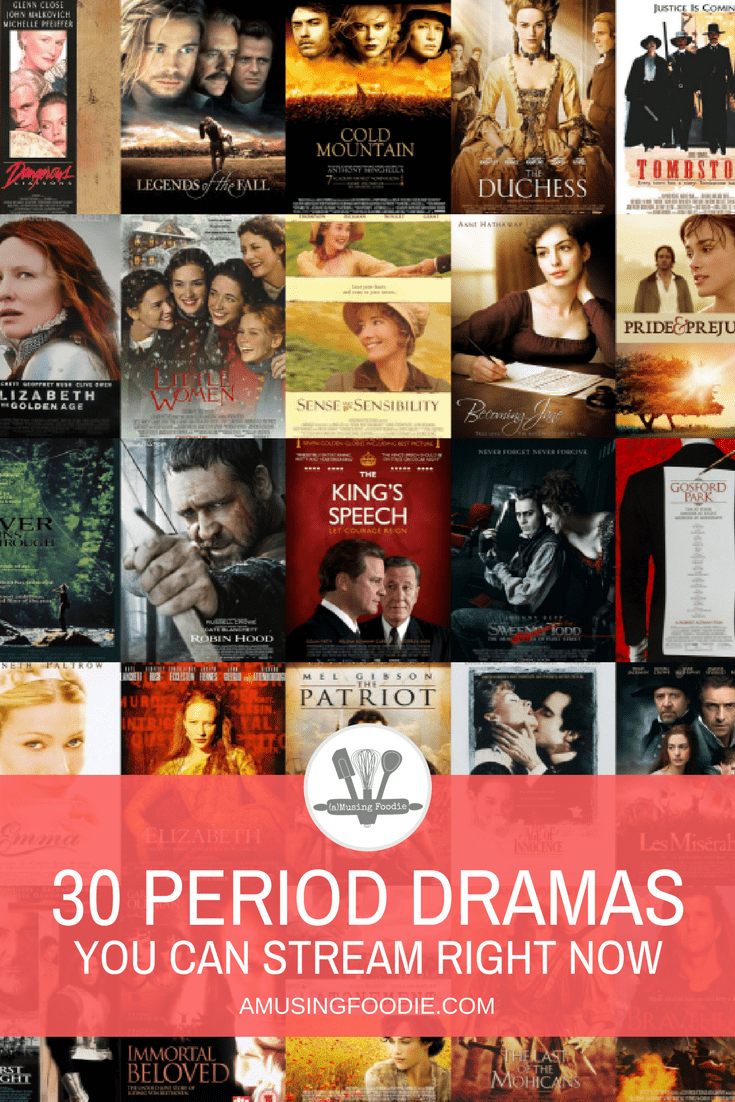 30 Period Dramas To Stream Right Now