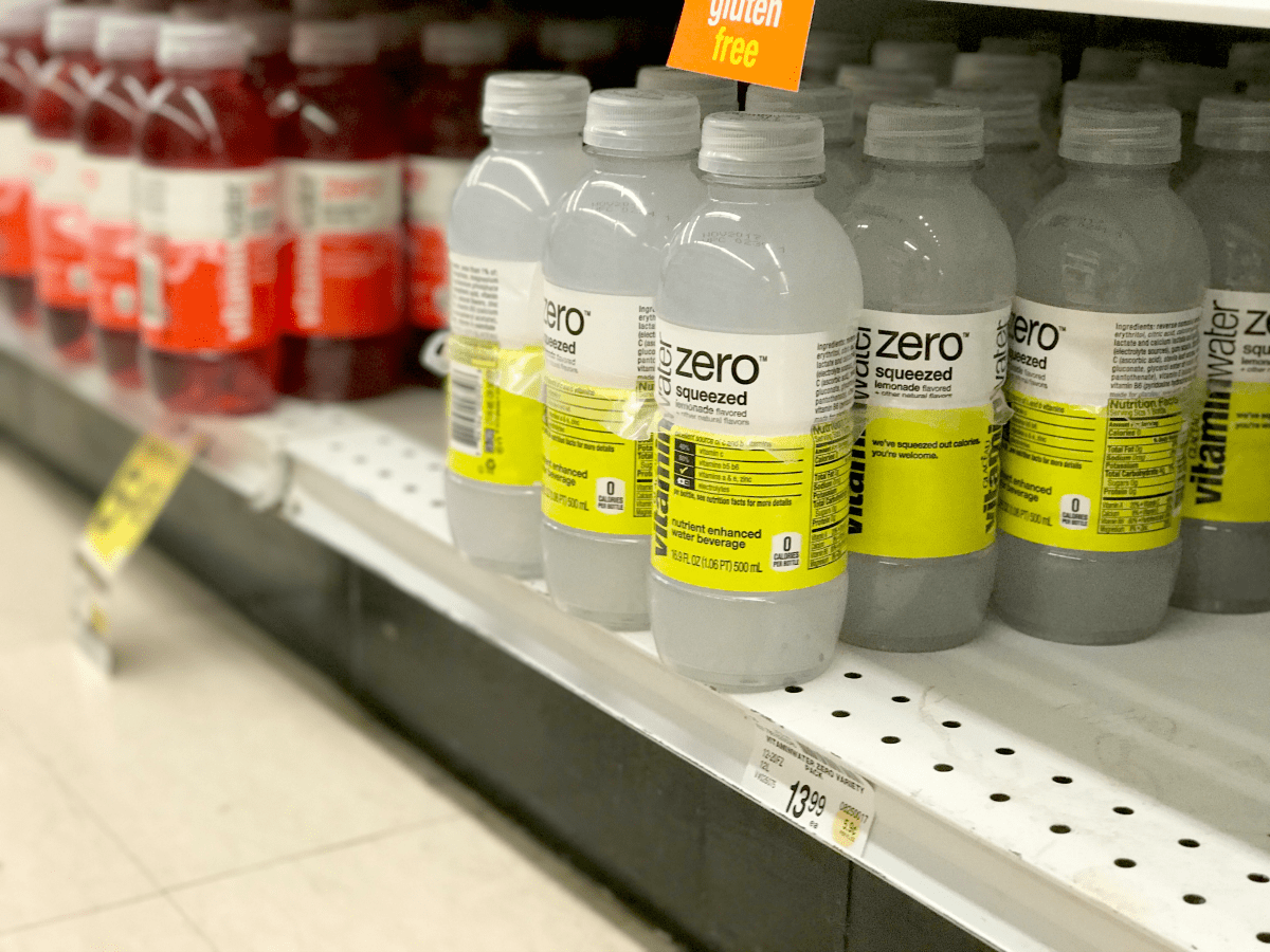 vitaminwater at Safeway