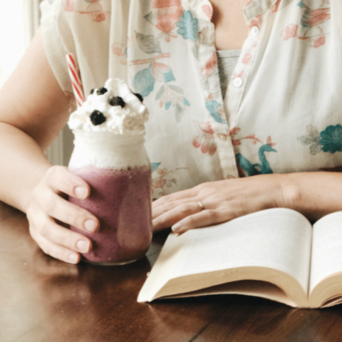 Make this yummy black raspberry frappe at home in minutes, with only a few ingredients, to celebrate summer. Whether it's taking time to read a new novel, hanging poolside with your kids, or enjoying a BBQ with friends, we like how you party!