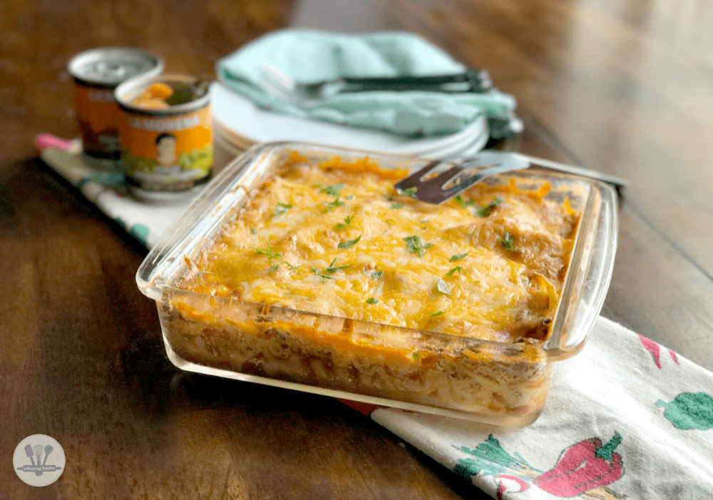The deep layers of flavor in this chipotle chicken lasagna are a surprising treat, given how simple it is to make. It's the perfect recipe to add to your dinner rotation and you can even make it ahead!