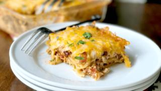 Chipotle Chicken Lasagna