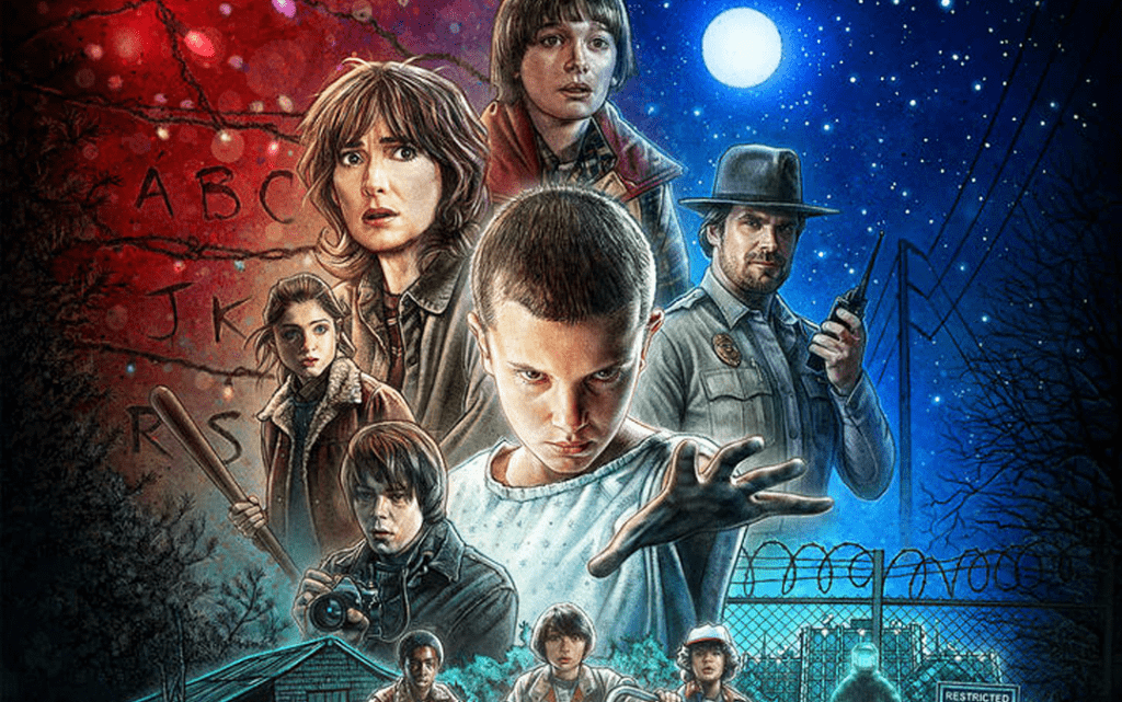 The draw of Stranger Things, especially for Gen Xers and Xennials.