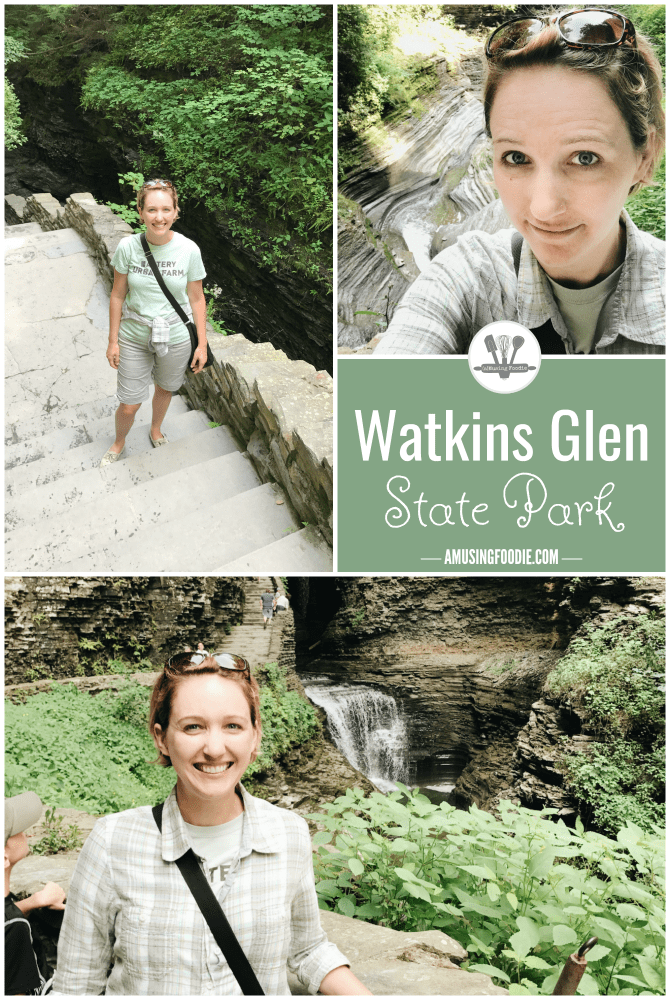 Take a day to visit Watkins Glen State Park and the beautiful gorge when you're at Seneca Lake in New York.
