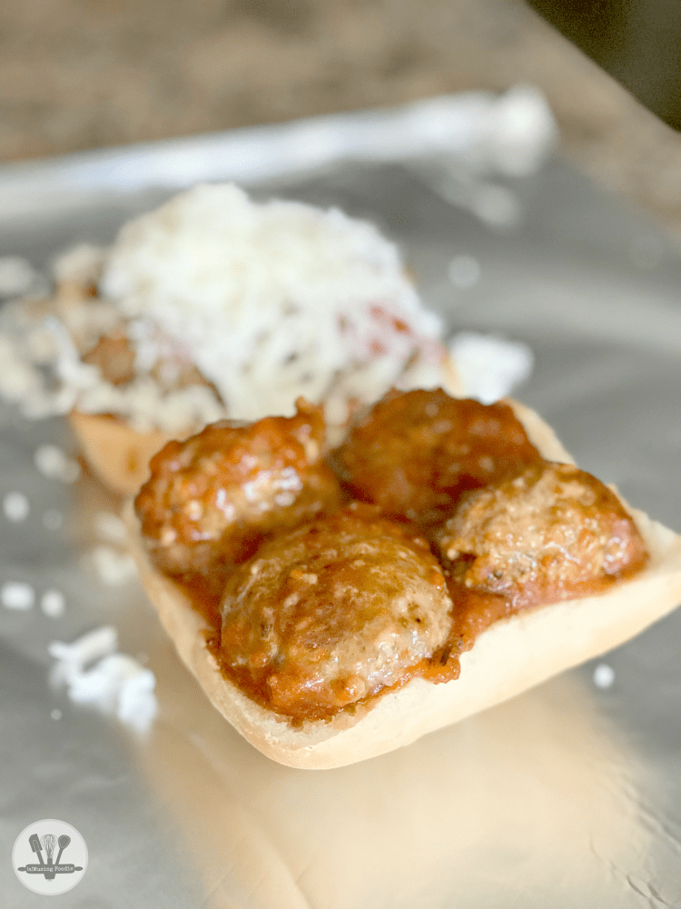There's hardly anything better than Italian meatballs on the table in a half hour, and having dinner taken care of for later in the week, too!