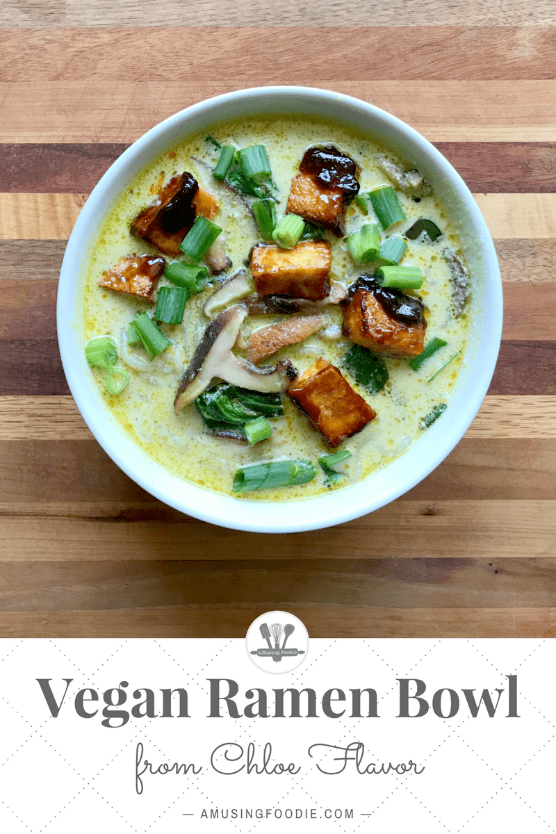 With crispy tofu glazed in a thick hoisin sauce, loads of veggies and noodles, and rich, creamy broth, this simple vegan ramen recipe from Chloe Flavor will be sure to have you wanting seconds!