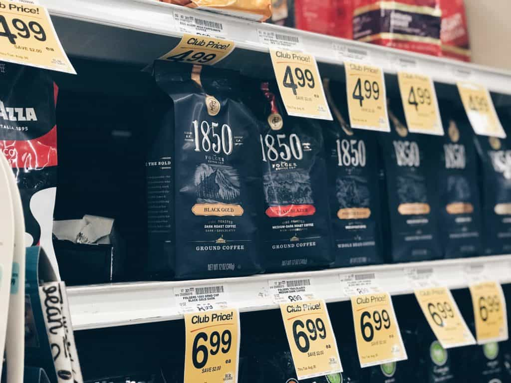 1850™ Brand coffee at Safeway
