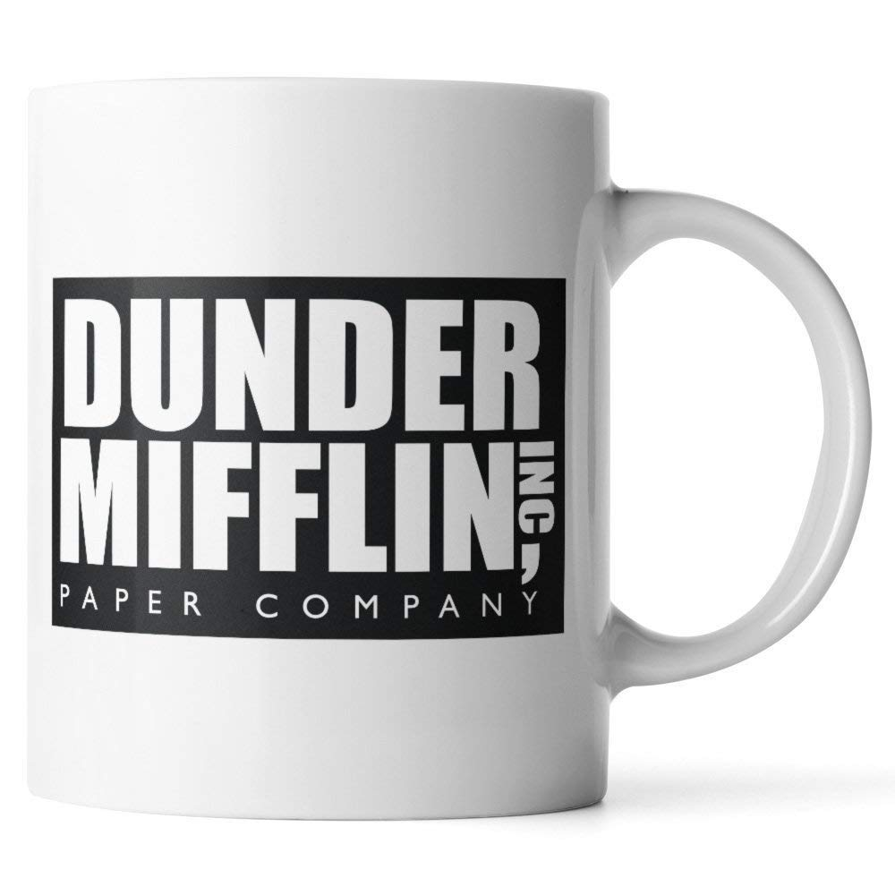 "A little kitsch and a lot of warm fuzzies can be had over these obsessions with the simple form of a mug, like this one with ""The Office"" theme."