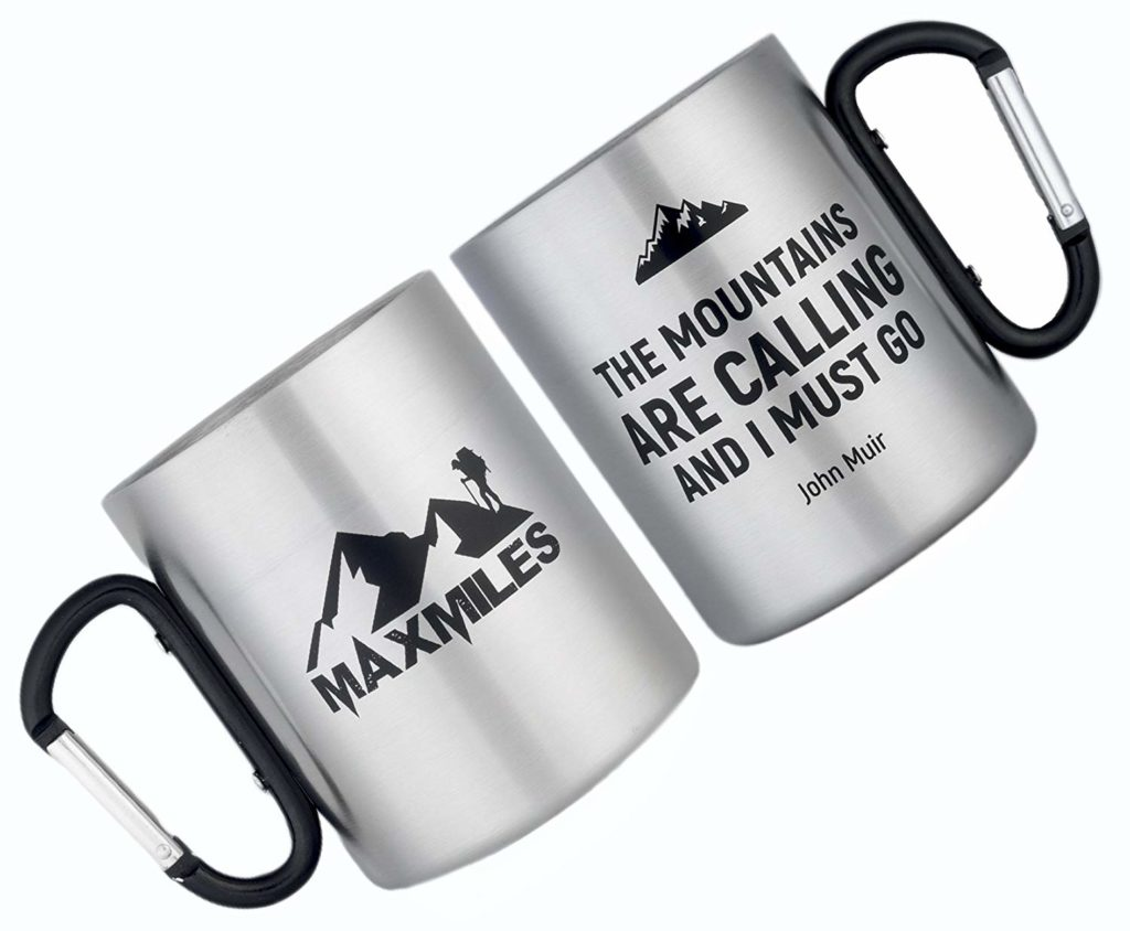 Oh yes. Even on hikes a mug is a requirement—particularly those of the early morning persuasion or the ones that take more than twenty-four hours to complete. Fill it with coffee or tea, or use it as an impromptu vessel for boiling water over a campfire.